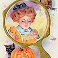 Hallowe'en Magic - Lighting by Mary Evans Picture Library