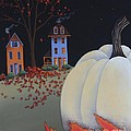 Halloween On Pumpkin Hill by Catherine Holman
