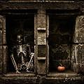 Halloween Skeleton by Amanda Elwell