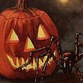 Halloween Spider by Tom Shropshire
