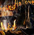Halloween' Spirit Greeting Card by Alessandro Della Pietra