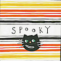 Halloween Spooky Cat by Melissa Averinos