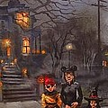 Halloween Trick Or Treat by Tom Shropshire