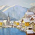 Hallstatt Austria by Ingrid Dohm