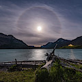 Halo Around The Solstice Moon by Alan Dyer