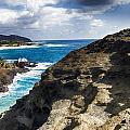 Halona Blowhole Lookout- Oahu Hawaii V2 by Douglas Barnard