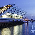 Hamburg Dockland At Night by Jannis Werner