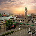 Hamburg Harbor by Daniel Heine
