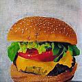 Hamburger by Andrea Nally