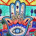 Hamesh Evil Eye by Pristine Cartera Turkus