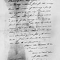 Hamilton: Letter, 1777 by Granger