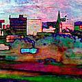 Hamilton Ohio City Art 10 by Mary Clanahan