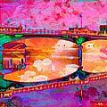 Hamilton Ohio City Art 5 by Mary Clanahan