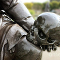 Hamlet Contemplating The Skull  by Terri Waters
