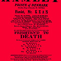 Hamlet Playbill by Charlie Ross