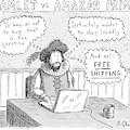 Hamlet Vs. Amazon Prime -- Hamlet Debates by Roz Chast