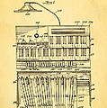 Hammond Organ Patent Art 1934 by Ian Monk