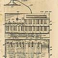 Hammond Organ Patent by Bill Cannon