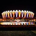 Hampton Coliseum Christmas by Greg Hager