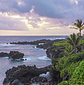 Hana Arches Sunrise 3 - Maui Hawaii by Brian Harig