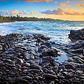Hana Bay Sunrise by Inge Johnsson