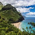 Hanakapiai Beach by Ian Stotesbury