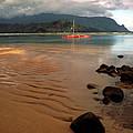 Hanalei Bay At Dawn by Kathy Yates