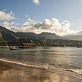 Hanalei Bay Pier - Kauai Hawaii by Brian Harig