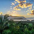 Hanalei Bay Sunset by Joseph Plotz