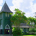 Hanalei Church by Mary Deal