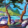 Hanalei Pier by Jerri Grindle