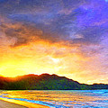 Hanalei Sunset by Dominic Piperata