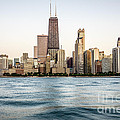 Hancock Building And Chicago Skyline by Paul Velgos