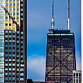 Hancock Building In Chicago  by John McGraw