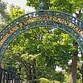 Hancock Cemetery Archway