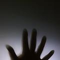Hand Against A Window by Simon Bratt Photography LRPS