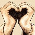 Hand Heart by Jaison Cianelli