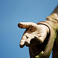 Hand Of Christ. by Jan Brons