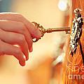 Hand With Key by Konstantin Sutyagin