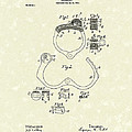 Handcuff 1899 Patent Art by Prior Art Design