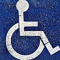 Handicapped Symbol by Bryan Mullennix