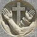 Hands And The Cross by Adam Jewell