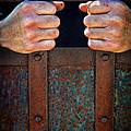 Hands On Prison Bars by Jill Battaglia