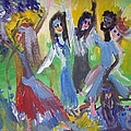 Hands Up For Peace by Judith Desrosiers