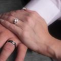 Hands With Wedding Rings by Gunter Nezhoda