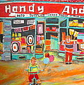 Handy Andy Montreal Memories by Michael Litvack