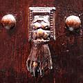 Handy Door Knocker by David Davies