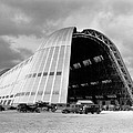 Hangar One At Moffett Field by Underwood Archives