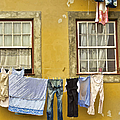 Hanging Clothes Of Old Europe II by David Letts