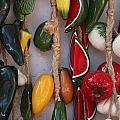 Hanging Kitchen Decorations Playa Del Carmen Mexico by Lee Vanderwalker